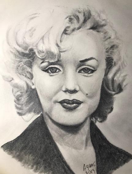 Marilyn Monroe by Jagans